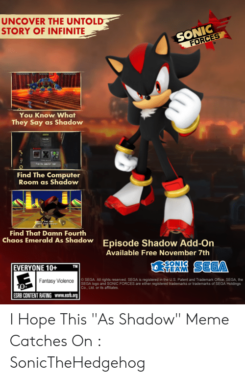 Uncover The Untold Story Of Infinite Sonic Forces 000001 You Know