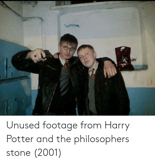 Harry Potter, Potter, and Harry: Unused footage from Harry Potter and the philosophers stone (2001)