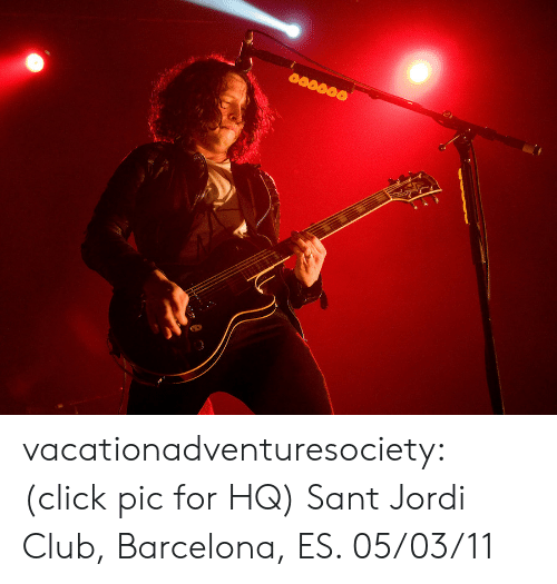 Barcelona, Click, and Club: vacationadventuresociety:  (click pic for HQ) Sant Jordi Club, Barcelona, ES. 05/03/11