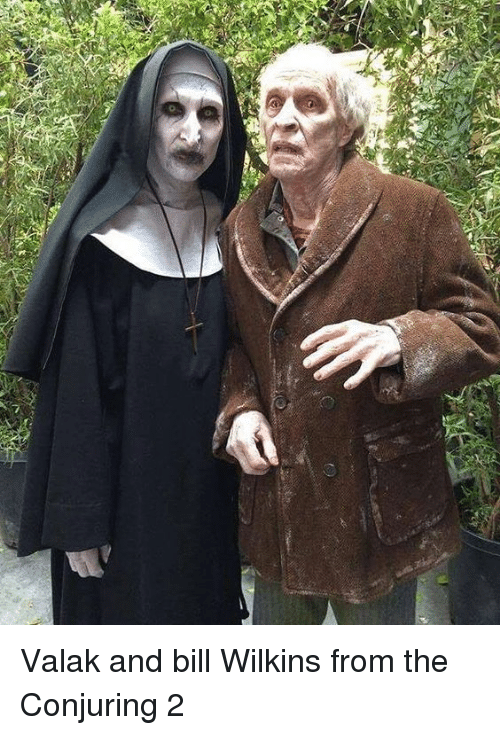 Conjuring 2: Valak and bill Wilkins from the Conjuring 2