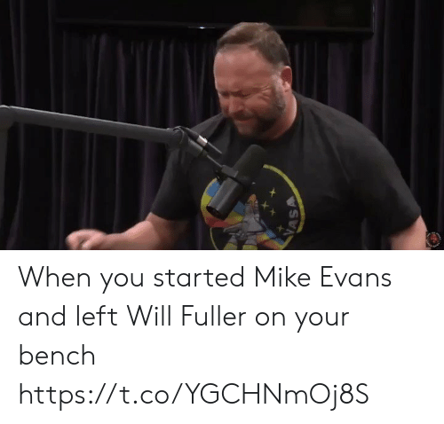 Will Fuller: VASA When you started Mike Evans and left Will Fuller on your bench https://t.co/YGCHNmOj8S