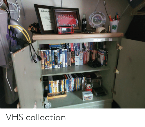 vhs: VHS collection