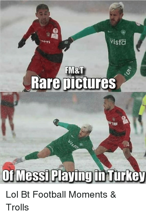 Pictures Of Messi: Vista  FM&T  Rare pictures  of Messi Playing in Tur Lol  Bt Football Moments & Trolls