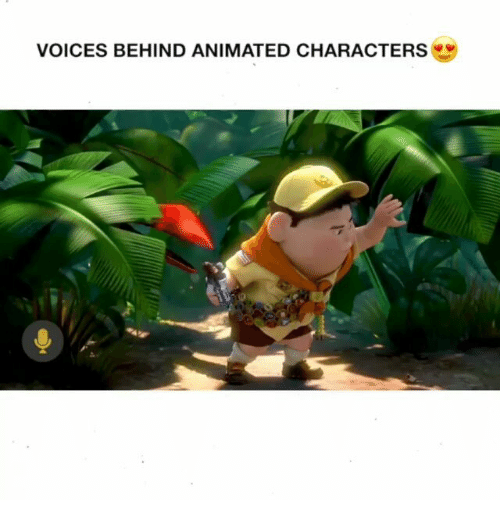 Behinde: VOICES BEHIND ANIMATED CHARACTERS