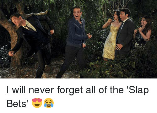 "Memes, The Slap, and 🤖: W""長 I will never forget all of the 'Slap Bets' 😍😂"