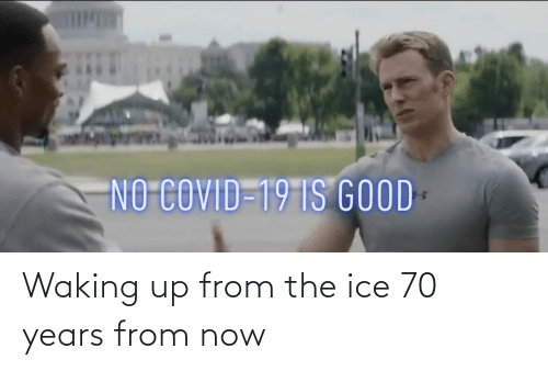 waking up: Waking up from the ice 70 years from now