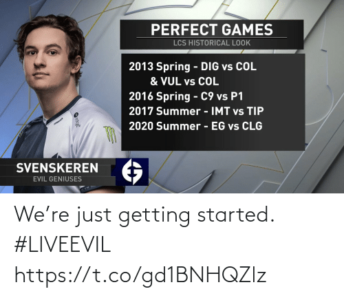 Started: We're just getting started. #LIVEEVIL https://t.co/gd1BNHQZlz
