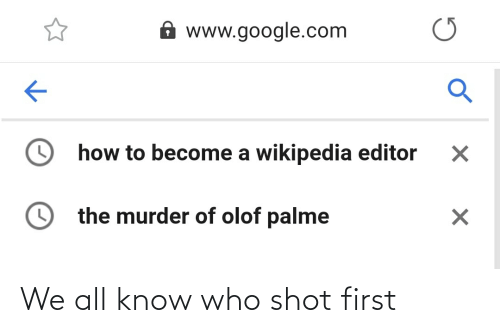 History: We all know who shot first
