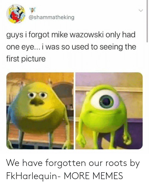Forgotten: We have forgotten our roots by FkHarlequin- MORE MEMES