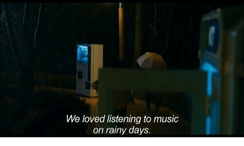 Listening To Music: We loved listening to music  on rainy days.