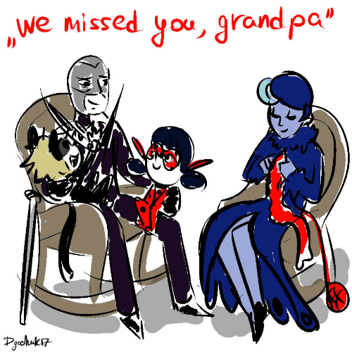 """Grand: we missed you, grand pa""""  Pchuk"""