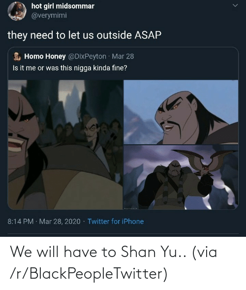 will: We will have to Shan Yu.. (via /r/BlackPeopleTwitter)