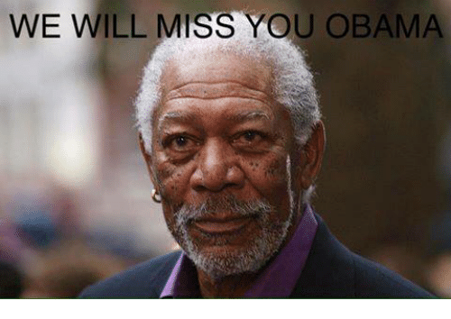 we will miss you: WE WILL MISS YOU OBAMA