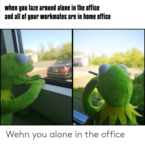 The Office: Wehn you alone in the office