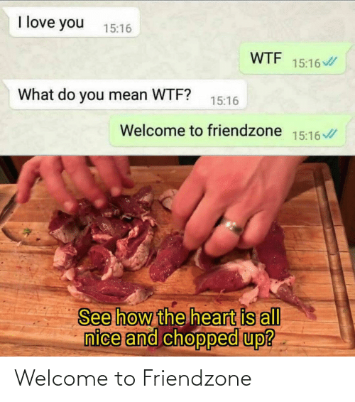 Welcome To: Welcome to Friendzone