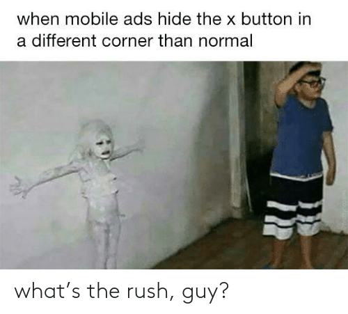 Rush: what's the rush, guy?