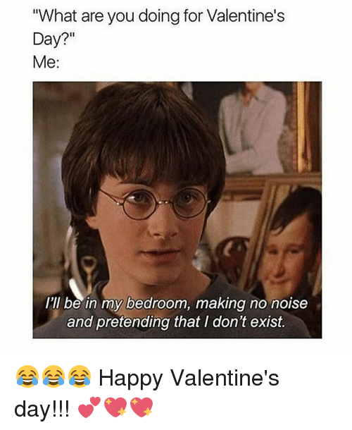 Memes And Noise What Are You Doing For Valentine S Day