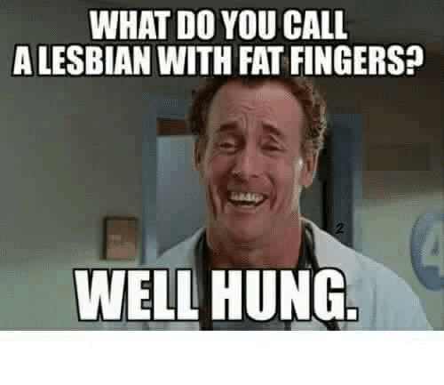 Excited too Bitch fat lesbian very well