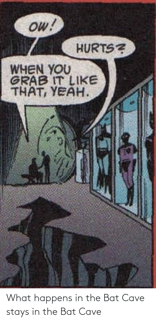 What Happens: What happens in the Bat Cave stays in the Bat Cave