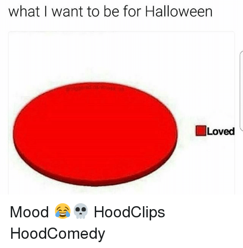 Hoodcomedy: what I want to be for Halloween  I Loved Mood 😂💀 HoodClips HoodComedy