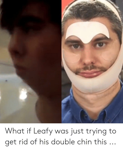 What if Leafy Was Just Trying to Get Rid of His Double Chin