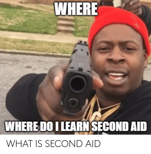Aid: WHAT IS SECOND AID