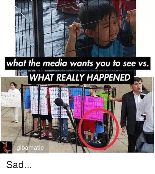 What Really Happened: what the media wants you to see vs.  WHAT REALLY HAPPENED  gibamatic Sad...