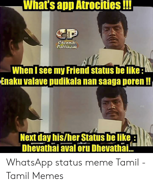 Whats App Atrocities Mt Pattinaw When I See My Friend