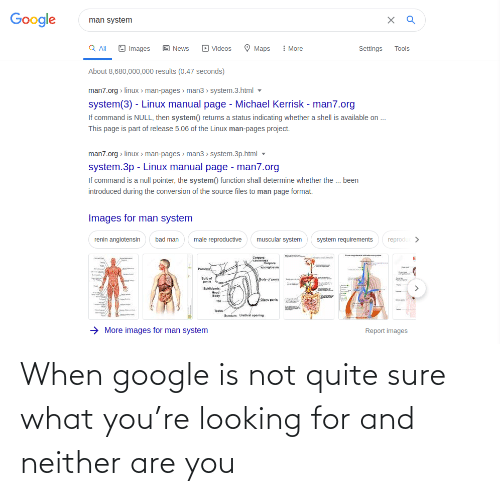 Looking For: When google is not quite sure what you're looking for and neither are you
