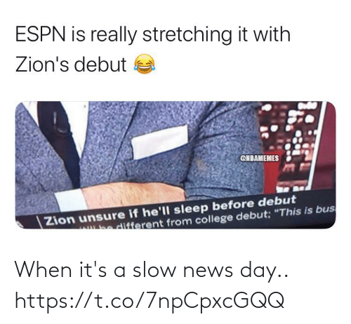 ballmemes.com: When it's a slow news day.. https://t.co/7npCpxcGQQ