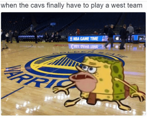 Nba Games: when the cavs finally have to play a west team  NBA GAME TIME