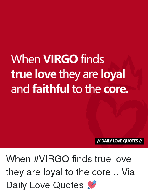 When VIRGO Finds True Love They Are Loyal and Faithful to ...