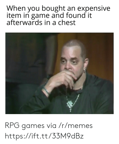 expensive: When you bought an expensive  item in game and found it  afterwards in a chest RPG games via /r/memes https://ift.tt/33M9dBz