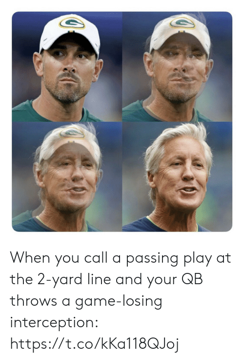 ballmemes.com: When you call a passing play at the 2-yard line and your QB throws a game-losing interception: https://t.co/kKa118QJoj