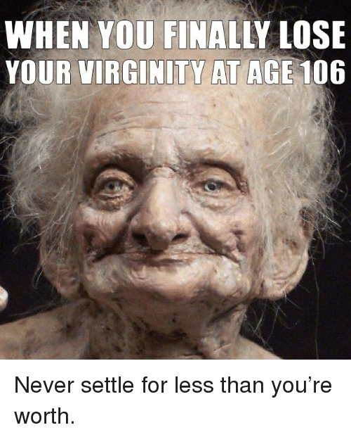 what is the right age to lose virginity