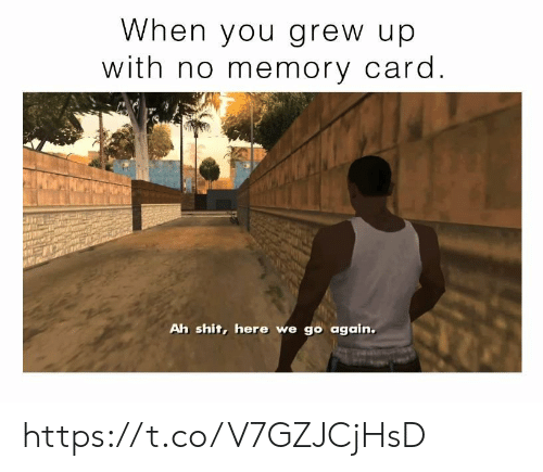 Shit, Video Games, and Memory: When you grew up  with no memory card.  Ah shit, here we go again. https://t.co/V7GZJCjHsD
