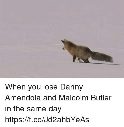 Tom Brady, Danny Amendola, and Butler: When you lose Danny Amendola and Malcolm Butler in the same day https://t.co/Jd2ahbYeAs