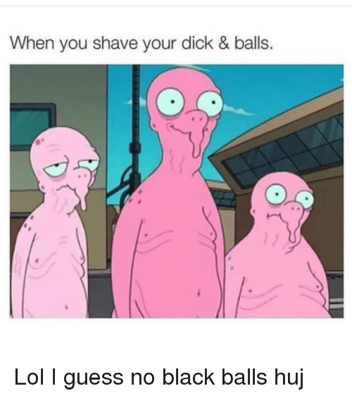 How shave dick