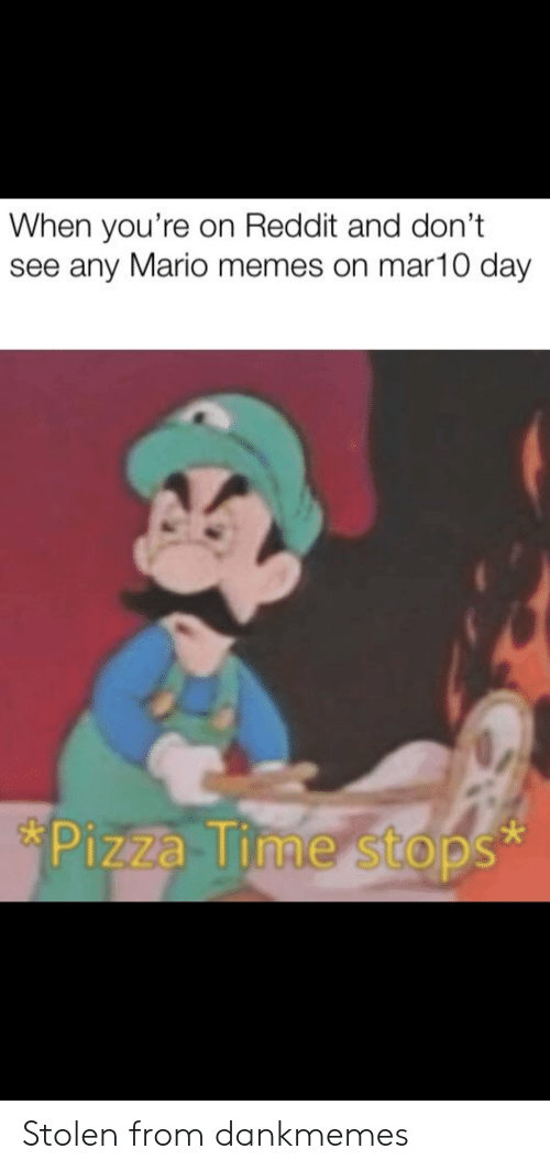 When You Re On Reddit And Don T See Any Mario Memes On Mar10