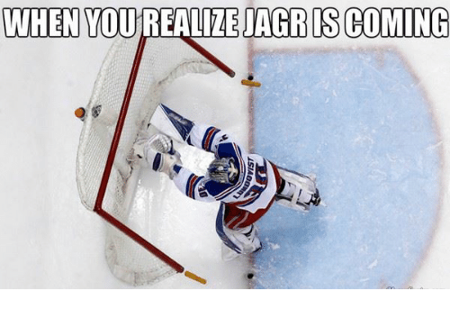 Jagr, Coming, and Jagrs: WHEN YOUREALIZE JAGR IS COMING