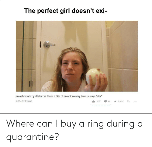 Buy A: Where can I buy a ring during a quarantine?