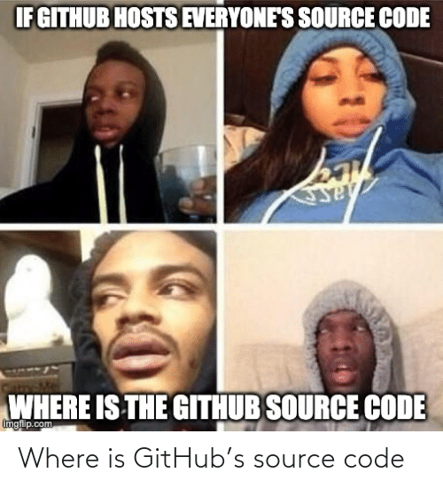 Where Is: Where is GitHub's source code