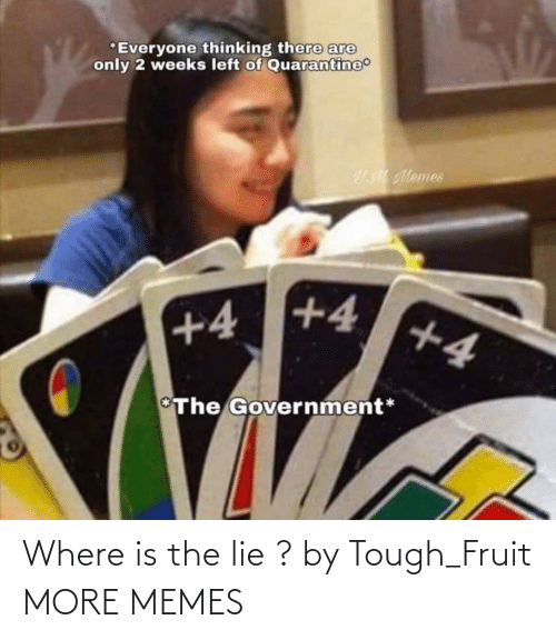 lie: Where is the lie ? by Tough_Fruit MORE MEMES
