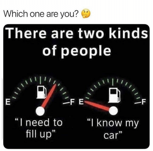 """you there: Which one are you?  There are two kinds  of people  FE  