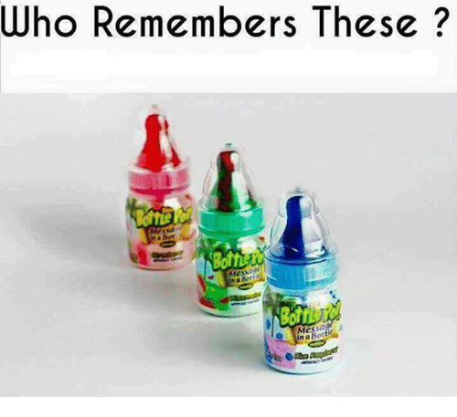 botty: Who Remembers These  essage  Mes  na Botti