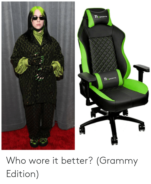 edition: Who wore it better? (Grammy Edition)