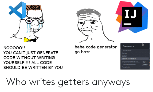 anyways: Who writes getters anyways