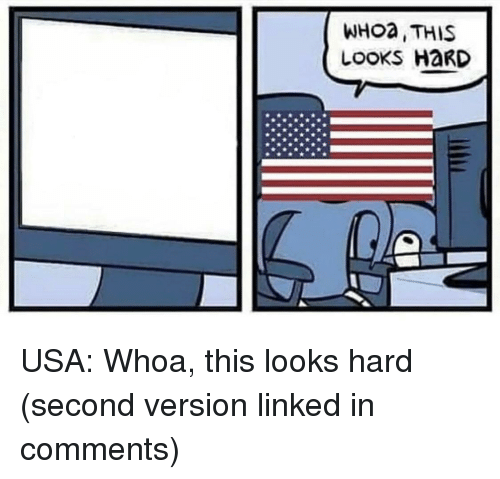 Usa, Linked In, and Comments: WHoa, THIS  LOOKS HaRD