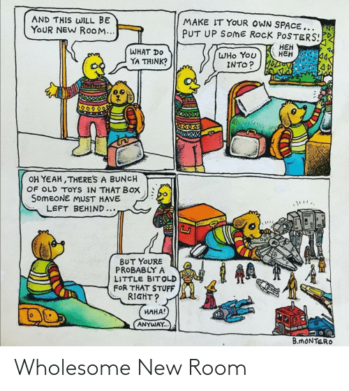 room: Wholesome New Room