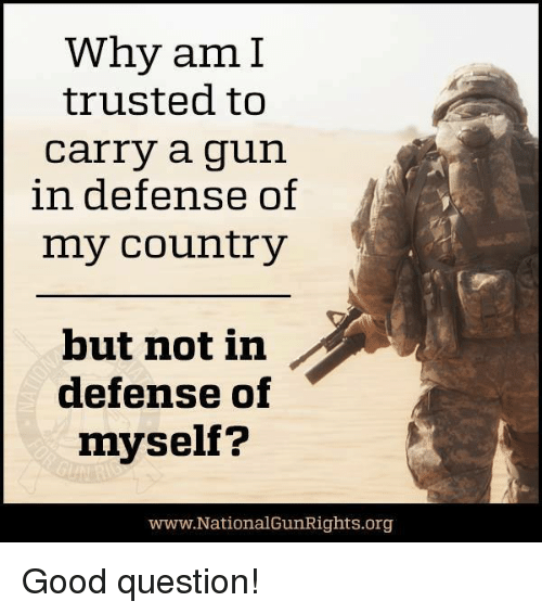 why guns are good Concealed carrier ends sexual assault we often talk about the good guy with a gun as being the.